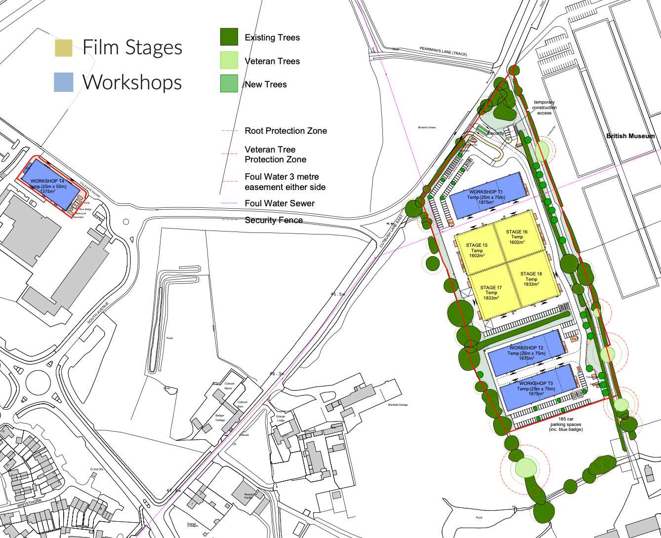 shinfield-planning-map